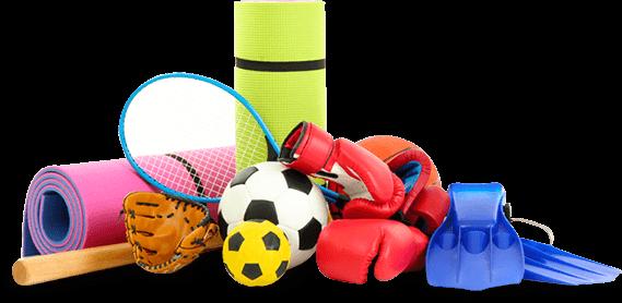 Acessórios de esporte diversos